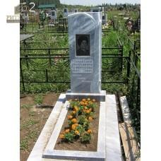 Памятник из мрамора стандарт 62 — ritualum.ru